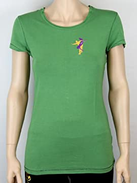 Embroidered Contact Improv Women's Bamboo T-shirt
