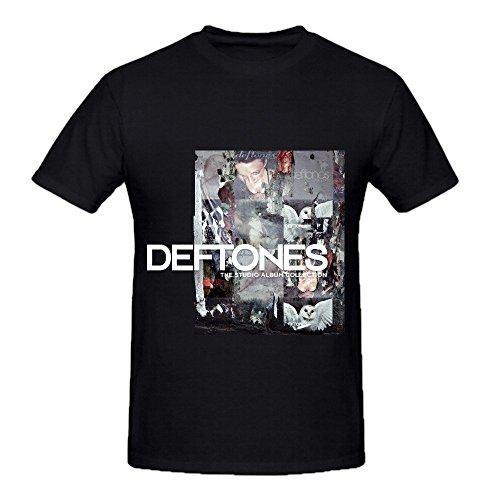Deftones The Studio Album Collection Tour Hits Men Crew Neck Customized Tee Predator Climalite Short