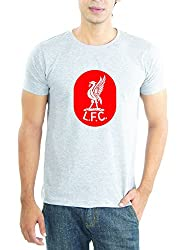 LaCrafters Mens Tshirt - Football - Liverpool Collection_Grey_Medium