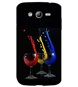 printtech Wine Glass Color Back Case Cover for Samsung Galaxy Grand i9080 / Samsung Galaxy Grand i9082