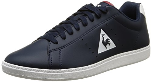 Le Coq Sportif Courtone S Lea Sneaker da Uomo, Colore Blu (Dress BlueDress Blue), Taglia 43 EU (9 UK)