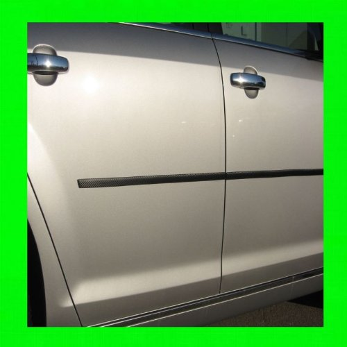 1989-1998 NISSAN 240SX CARBON FIBER SIDE / DOOR TRIM MOLDINGS 2PC 1990 1991 1992 1993 1994 1995 1996 1997 89 90 91 92 93 94 95 96 97 98 240 SX (240 Sx Stickers compare prices)