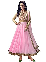 Shree Fashion Women's Net Unstitched Dress Materials [D29]