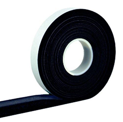 Kompriband 15/2 anthrazit 12,5 m Rolle, Bandbreite 15mm, expandiert von 2 auf 10mm, Fugendichtband, Komprimierband