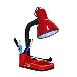 Elliss Collections Durable Table Lamp with pen stand & paper holder.