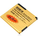 Gold 2430MAH BA S470 Business Battery for HTC Desire HD