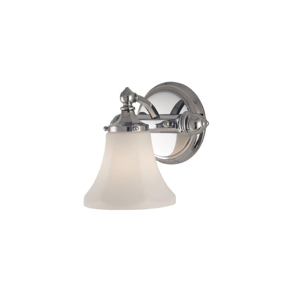 Checkolite 7681 15 Price Pfister Catalina Collection 60 Watt 1 Light Vanity, Chrome