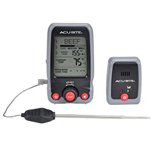 AcuRite 00278 Digital Meat Thermometer and Timer with Pager by Acu-Rite