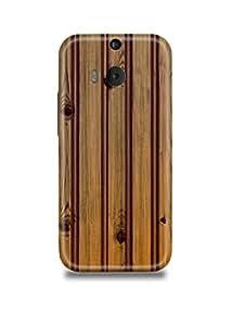 Wooden Stripes HTC M9 Plus Case