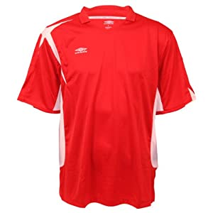 Umbro Climate Control V-Neck Jersey - Red - XL