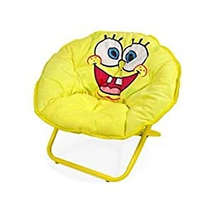 SpongeBob Squarepants Foldable Mini Saucer Chair from Idea Nuova
