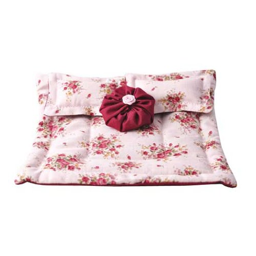 Dollhouse Miniature Timeless Rose Comforter Set