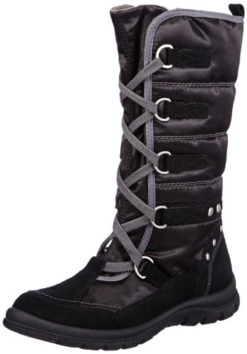 Superfit Girls Chiara Snow Boots Black Schwarz (Schwarz 00) Size: 39