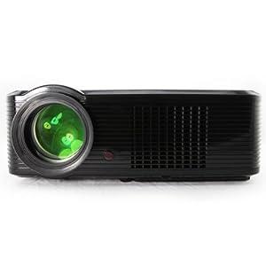 Upgraded version Full HD Beamer LED Projektor HDMI USB DVB-T Built in Digital TV Tuner