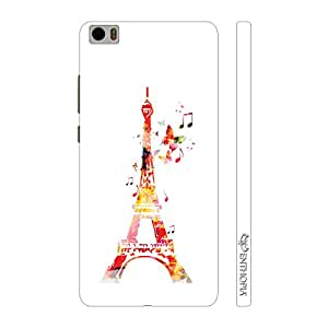 Enthopia Designer Hardshell Case Musical Eiffel Tower Back Cover for Xiaomi Mi5
