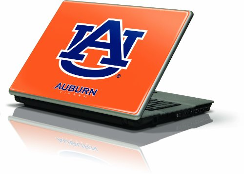 "Skinit Protective Skin Fits Latest Generic 15"" Laptop/Netbook/Notebook (Auburn University Orange & Blue Logo) at Amazon.com"