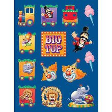 Big Top Value Stickers Package of 4 - 1