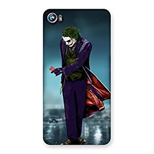 Cute Walking Mad Back Case Cover for Micromax Canvas Fire 4 A107
