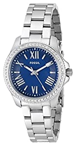 Fossil Women's AM4583 Analog Display Analog Quartz Silver Watch