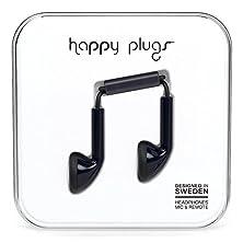 buy Happy Plugs 7705 Earbuds Black