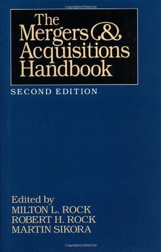The Mergers and Acquisitions Handbook