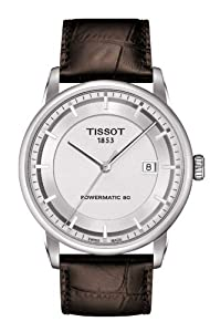 Tissot T0864071603100 Watch Luxury Mens - Silver Dial Stainless Steel Case Automatic Movement