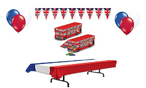 British (Union Jack) Decorations (Party Supplies) (British London Decorations compare prices)