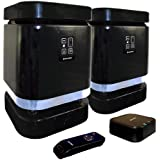 Mutant MIG-WS2-S Media Block Deluxe Weather-Resistant Wireless Outdoor Stereo Speaker System