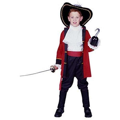 Child's Pirate Captain Boy's Costume (Size:Large 12-14)