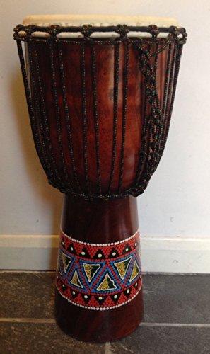 Handbemalte African Style Djembe Trommel 60 cm