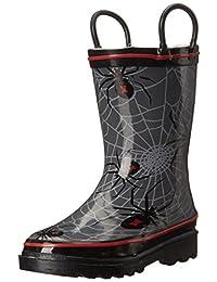Western Chief Spider Web Crawl Rain Boot (Toddler/Little Kid/Big Kid)