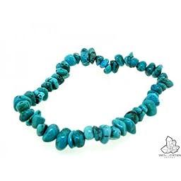 Bracelet, Turquoise chip.