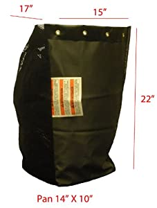 MTD Rear Rider (Triple) replacement grass bag. Bag ONLY from Humboldt