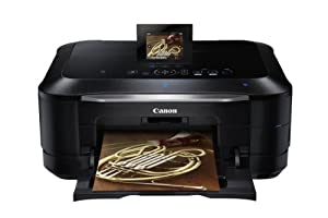 Canon 5293B002 Pixma MG8220 Wireless Inkjet Photo All-In-One Printer/Scanner (Black)