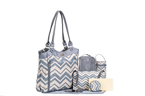 SoHo Collection, Louvre 9 pieces Diaper Bag
