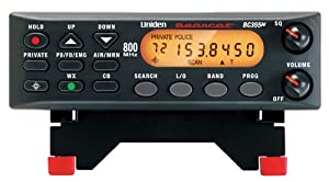 Uniden BC355N 800 MHz 300-Channel Base Mobile Scanner