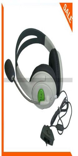 New Big Live Headset Headphone Microphone For Xbox 360 New