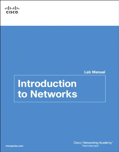 Introduction to Networking Lab Manual (Lab Companion)