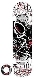 Osprey Double Kick Pro Maple Deck Skateboard - Script Graffiti