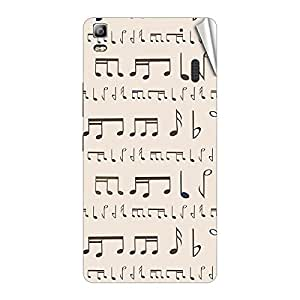 Garmor Designer Mobile Skin Sticker For Lenovo P770 - Mobile Sticker