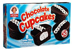 Little Debbie Chocolate Cupcakes (Pack of 2)
