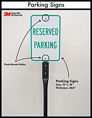 "SmartSign Aluminum Sign, Legend ""Private Property No Trespassing Surveillance"", 12"" high x 18"" wide, Black on White"