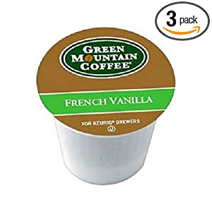 Amazon - Green Mountain Coffee French Vanilla, 36 K-Cups - $13.19