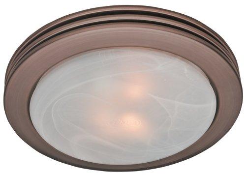 Hunter 90058 Bathroom Fan & Light Imperial Bronze Saturn