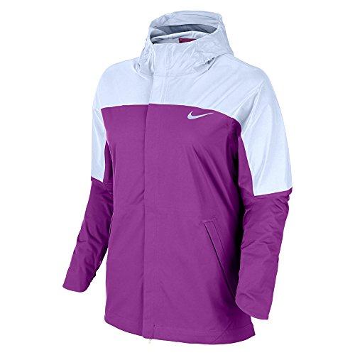Nike-Shield-runner-Flash-Womens-Running-Jacket-NEW-2016-PURPLE