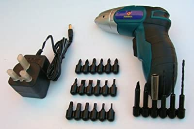 Cordless Rechargeable 48v 24pc Electric Screwdriver from marksman