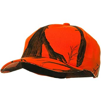 Mossy Oak Camo Cap - Blaze Orange Tree Stand