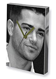 JESSE METCALFE - Canvas Clock (LARGE A3 - Signed by the Artist) #js001