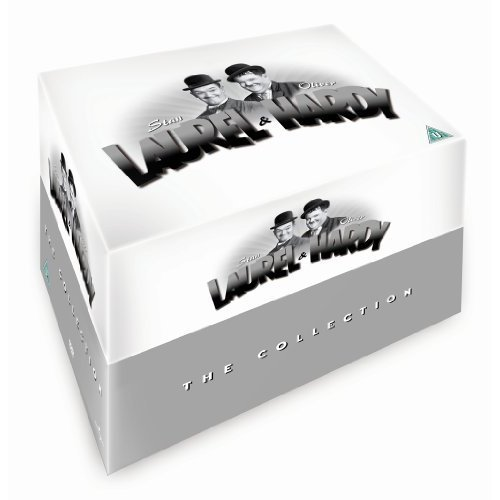 Laurel & Hardy - The Collection (21-disc Box Set) [Region 2]