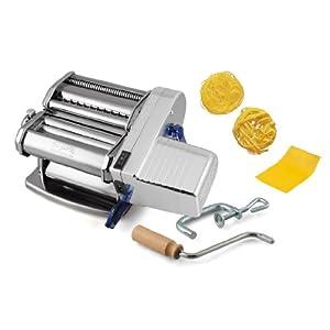 Pasta macchina macchina pasta imperia 640 con motore elettrico - Macchina per fare la pasta in casa ...